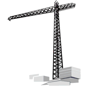 300x300 Crane 05 Clipart, Cliparts Of Crane 05 Free Download (Wmf, Eps