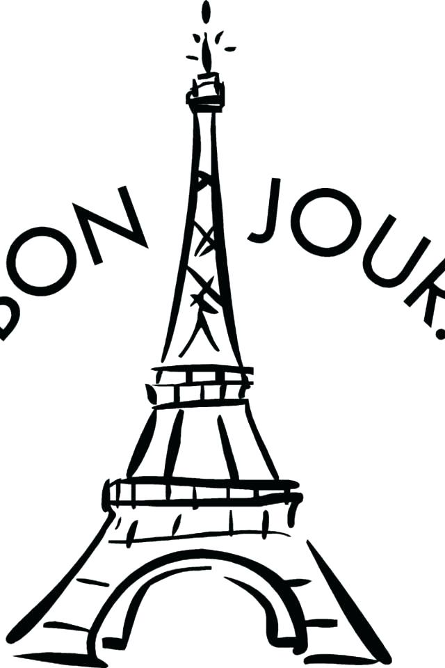 640x960 Eiffel Tower Coloring Page Tower Coloring Pages Photo Tower