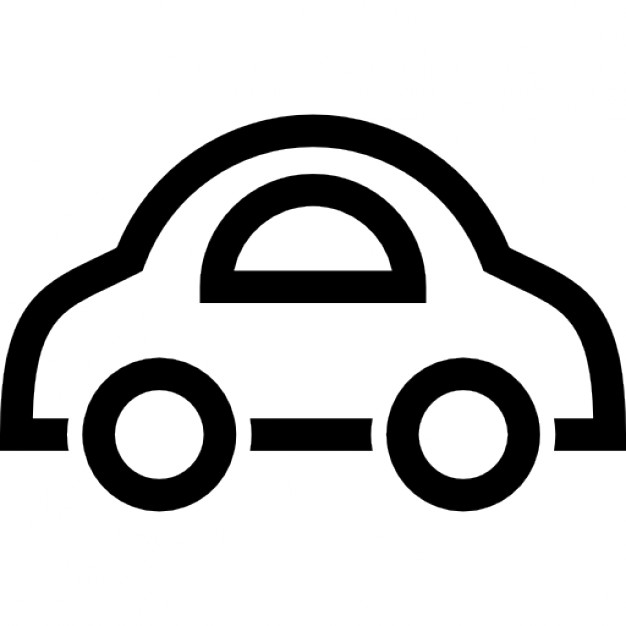 626x626 Toy Car Outline Icons Free Download