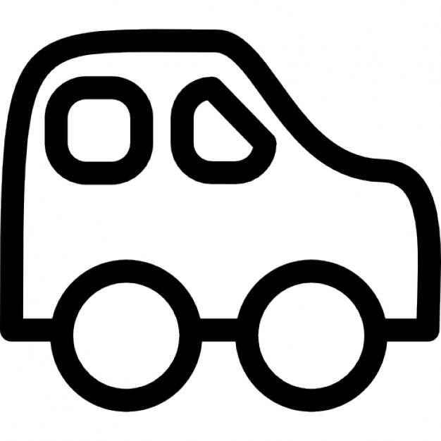 626x626 Car Baby Toy Outline Icons Free Download