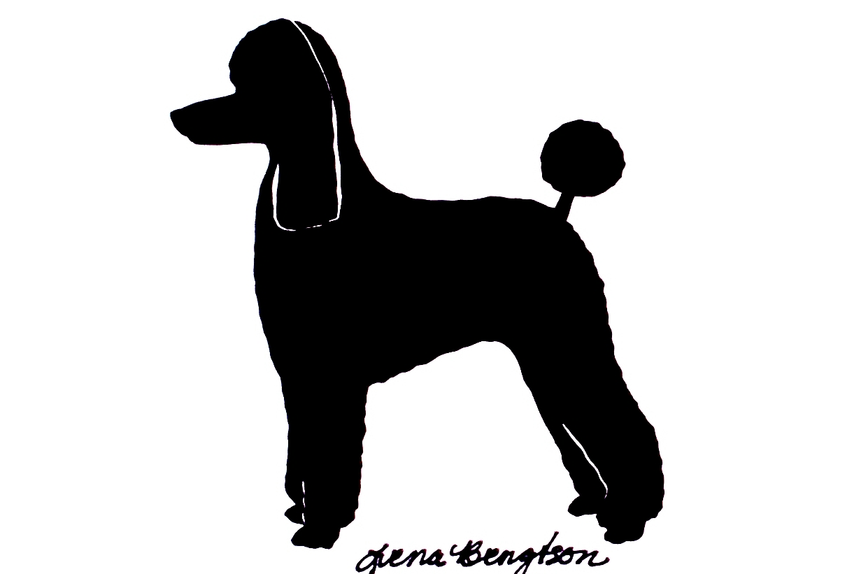 1231x821 Poodle Dog Decorative Handmade Wood Display Silhouette Lively