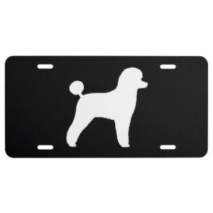 307x307 Poodle License Plates Zazzle