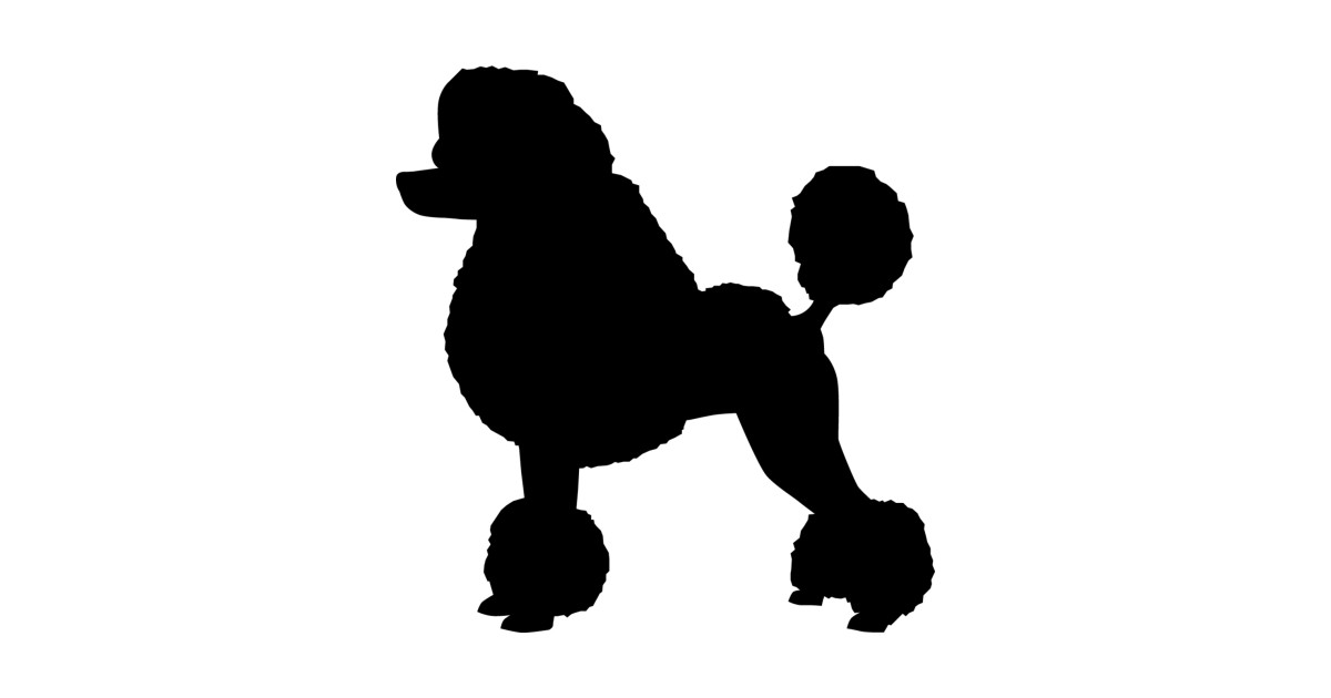 1200x630 Poodle Silhouette