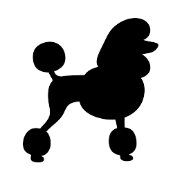 263x262 Poodle Silhouette Signs Poodle, Silhouettes