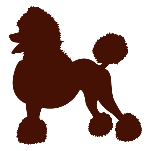 512x512 Dog Poodle Silhouette