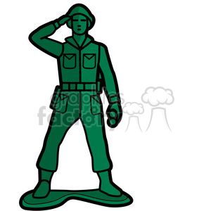 300x300 Royalty Free Toy Soldier Illustration Graphic 398056 Vector Clip