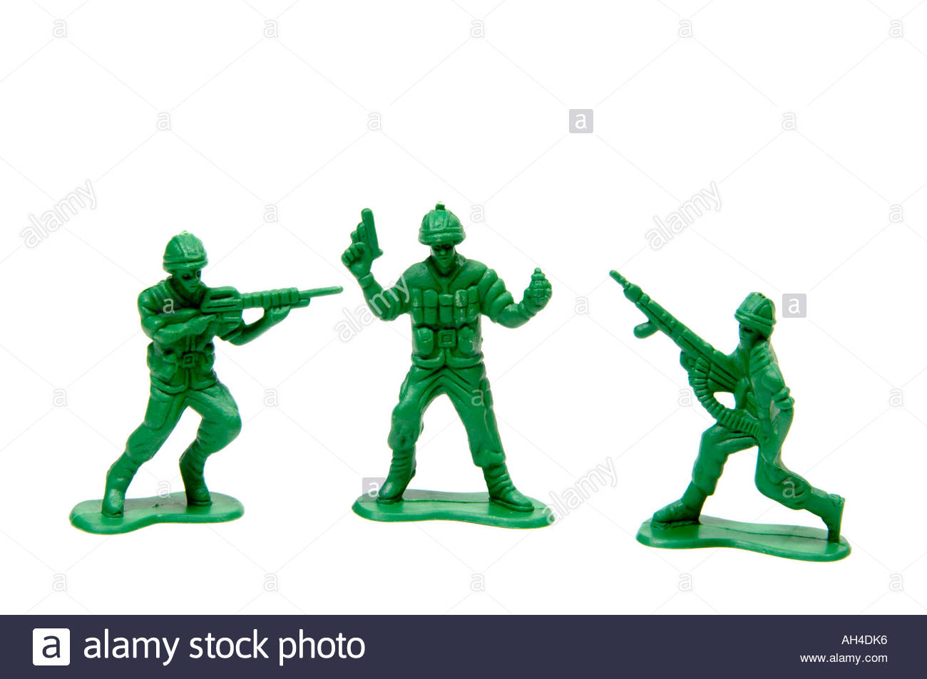 1300x953 Green Plastic Toy Soldiers Stock Photo 8202741