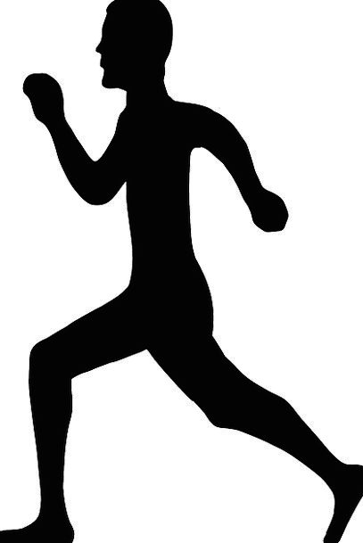407x609 Run, Track, Consecutively, Man, Gentleman, Running, Health