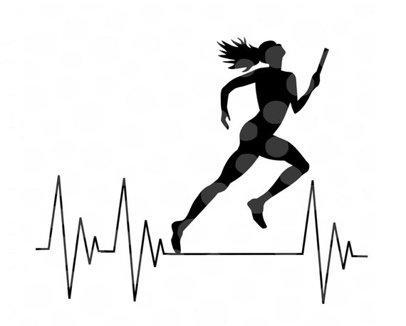 570x459 Track And Field Svg, Girls Track Svg, Track Cut File, Running Svg
