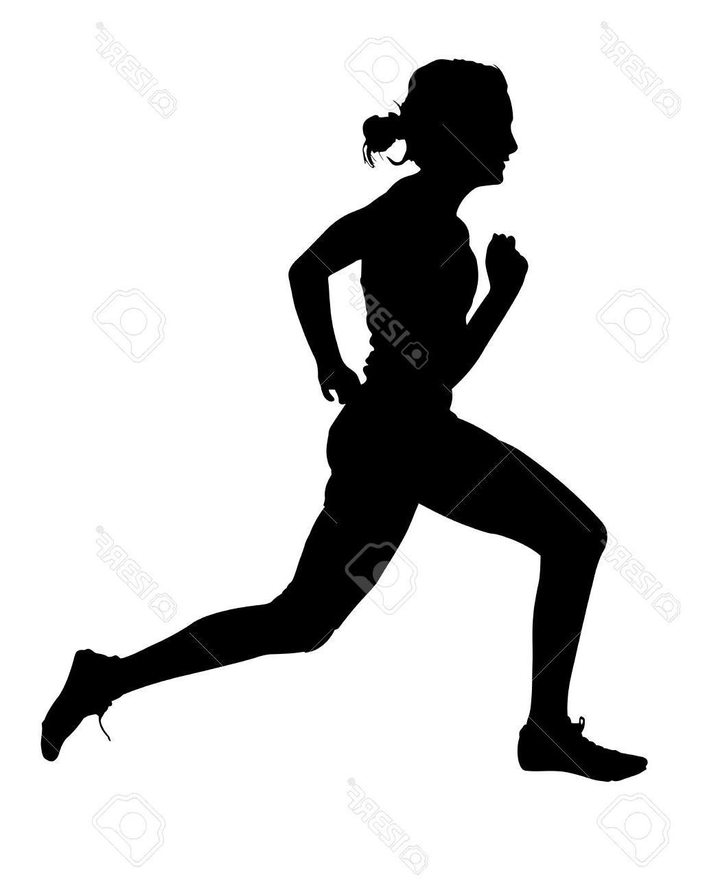 1030x1300 Best Hd Side Profile Of Speeding Female Track Runner Silhouette
