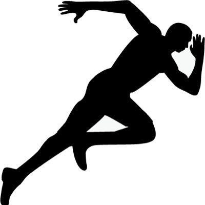 track silhouette at getdrawings com free for personal use track rh getdrawings com free clipart track and field images