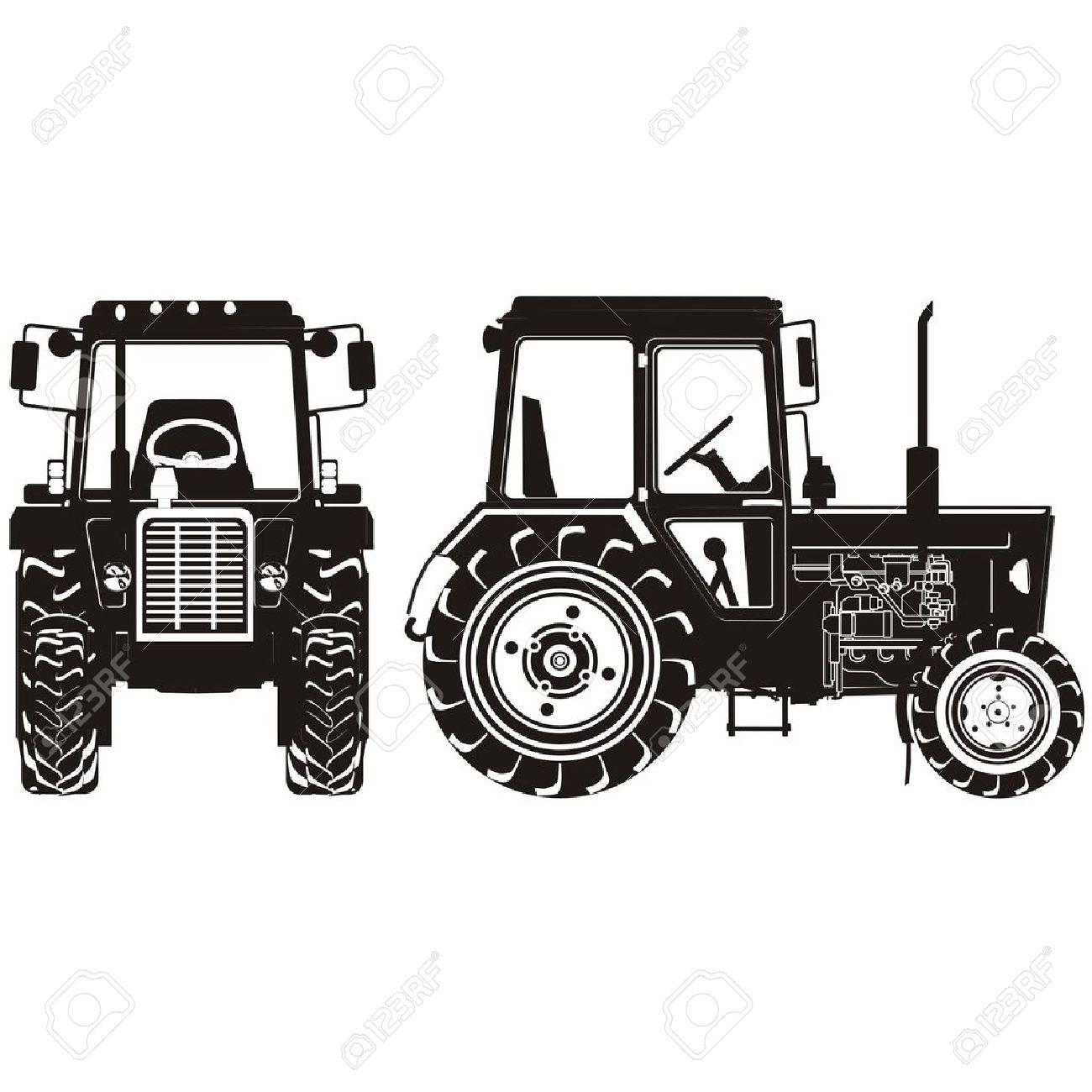 1300x1300 Tractor Clipart Farm Truck