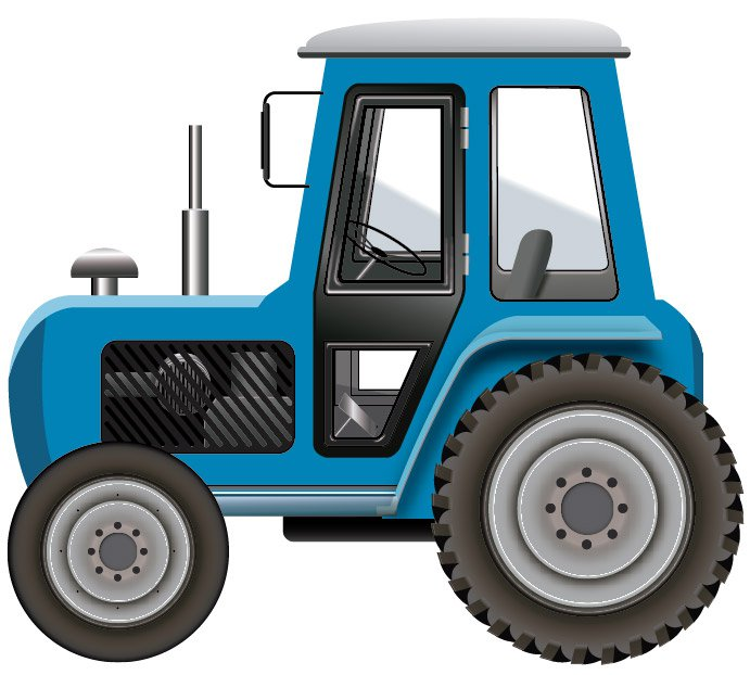 tractor silhouette at getdrawings com free for personal use rh getdrawings com free clipart tractor trailer truck free tractor clipart images