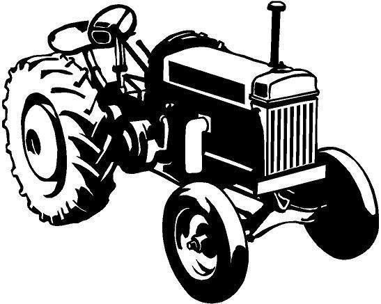 547x437 For Your Consideration Is A Die Cut Vinyl Tractor Decal Available