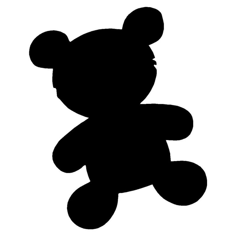800x800 Clipart Black And White Teddy Toy Car Collection