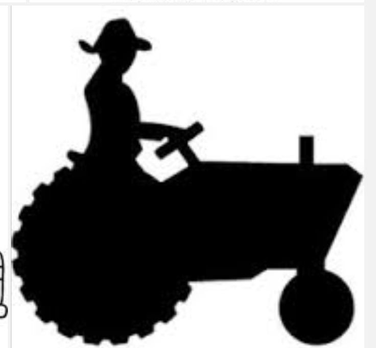 Tractor Silhouette Images