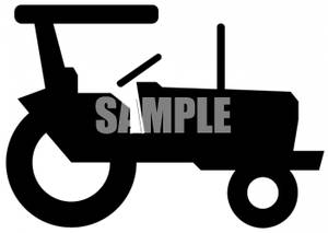 300x213 Of A Tractor Clipart Image