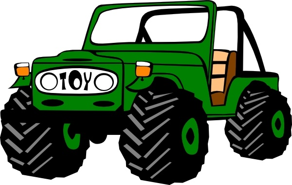 600x380 Toyota Land Cruiser Clip Art Free Vector In Open Office Drawing