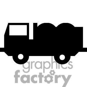 300x300 Semi truck silhouette clipart free collection