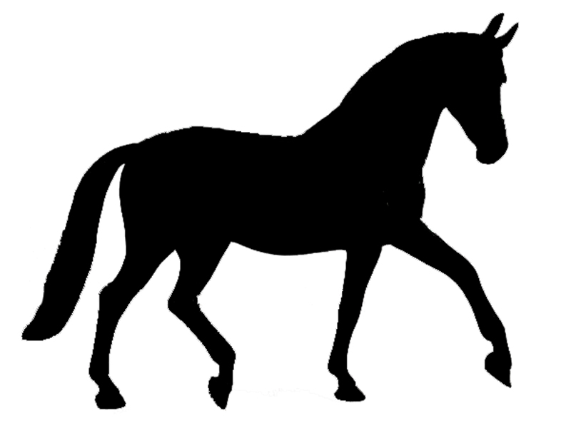 800x600 Free Western Pleasure Horse Silhouette, Hanslodge Clip Art Collection