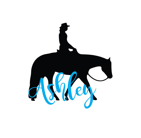 570x557 Western Pleasure Horse Download, Unique Equestrian Svg, Dxf, Eps
