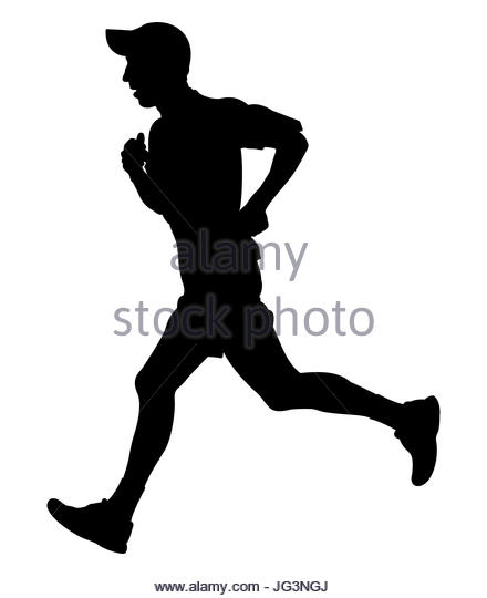 440x540 Trail Running Vector Illustration Stock Photos Amp Trail Running