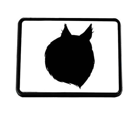 466x389 Style In Print Norwegian Forest Cat Head Silhouette