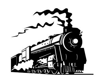 340x270 Train Cricut File Etsy