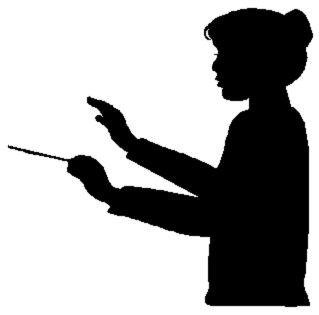 319x315 Female Conductor Clipart