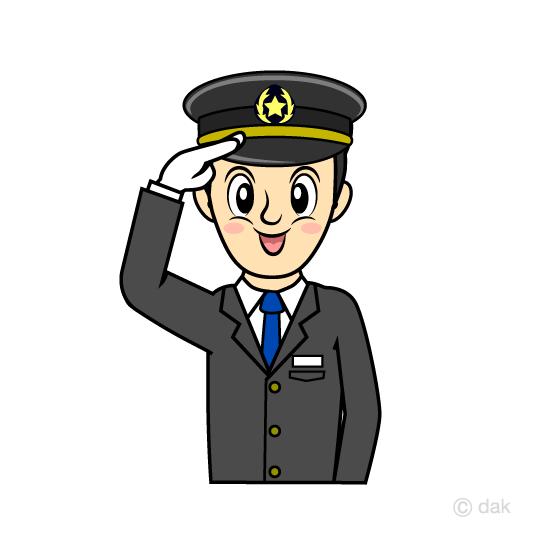 540x540 Free Train Driver Conductor Clip Art Cartoon