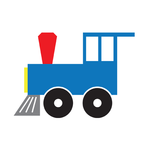 500x500 Locomotive Clipart Train Cart