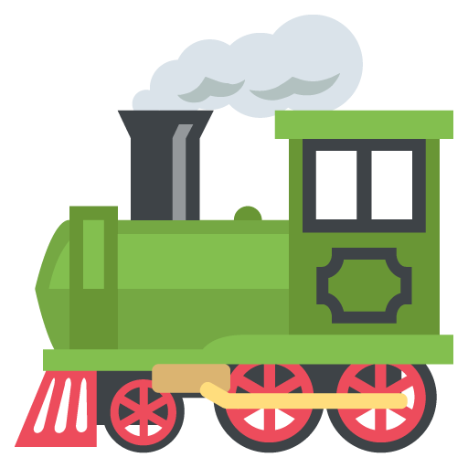 512x512 Steam Locomotive Emoji Vector Icon Free Download Vector Logos