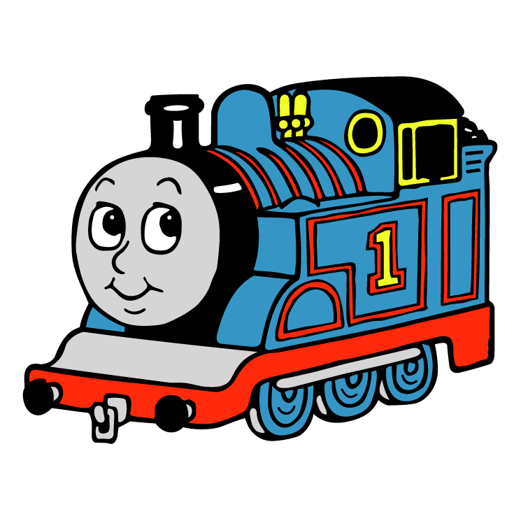 745x745 Thomas The Tank Engine Free Vector 4vector