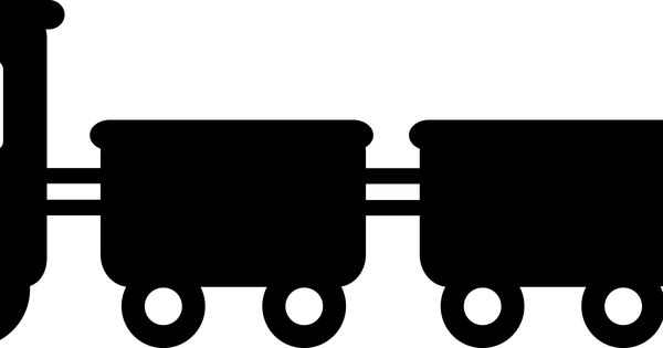 600x315 Simple Train Clipart