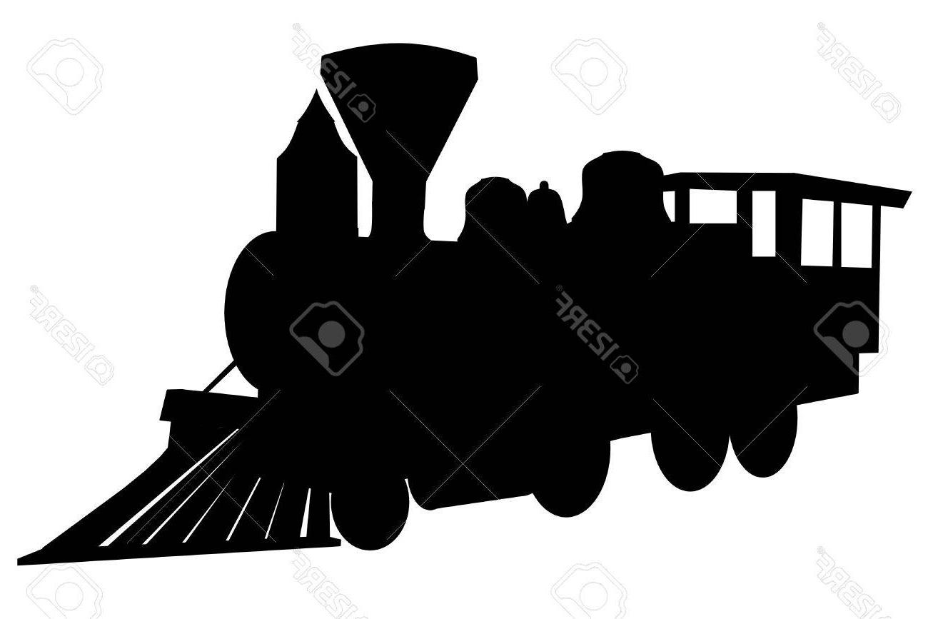1300x867 Best Locomotive Train Silhouette Library