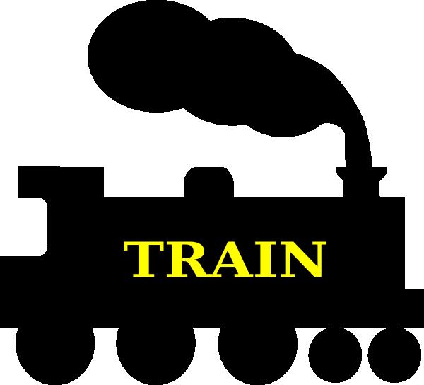 600x544 Train Silhouette Clip Art