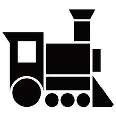 236x236 Train Silhouette Cliparts Added Here In Black And White Vector