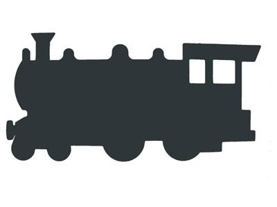 400x300 Train Silhouette