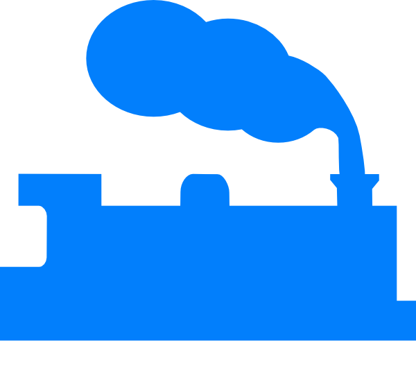600x532 Blue Train Silhouette Clip Art