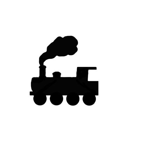 Train Silhouette Clip Art