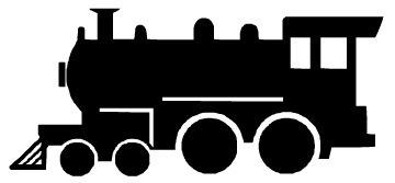 360x167 Steam Train Silhouette