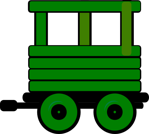 600x539 Toot Toot Train Carriage 6 Clip Art