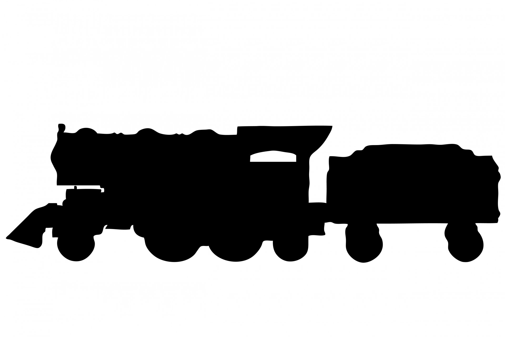 1920x1280 Vintage Steam Train Clipart Free Stock Photo