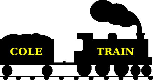 600x315 Cole Train Silhouette Clip Art