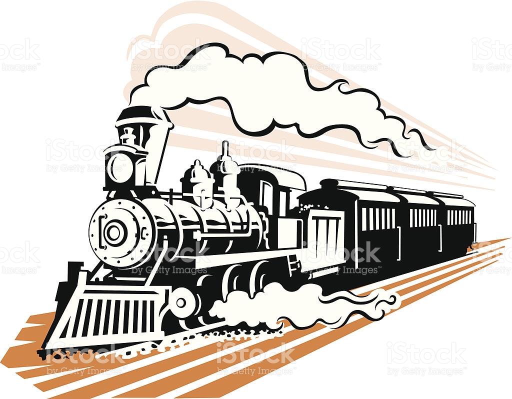 1024x798 Railways Clipart Steam Engine