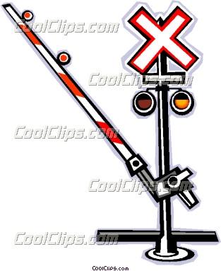 313x383 Train Crossing Sign Clip Art