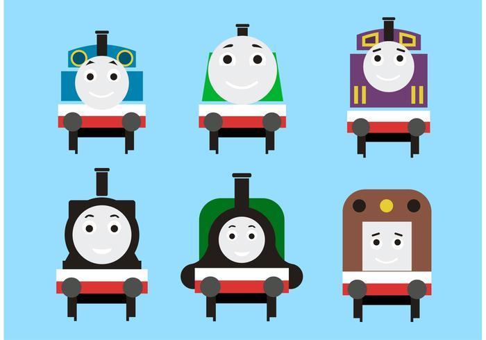 700x490 Thomas The Train Vectors