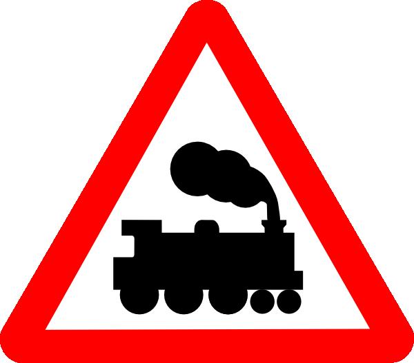 600x527 Train Road Signs Clip Art