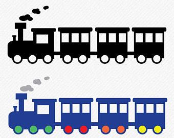 340x270 Train Silhouette Etsy