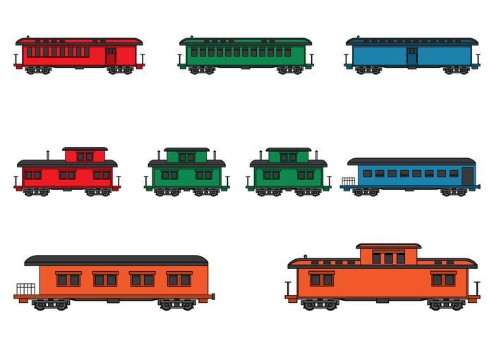 700x490 Vintage Steam Locomotive Train Set